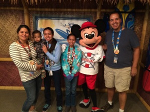 Disneyland Paradise Pier Hotel Family Breakfast