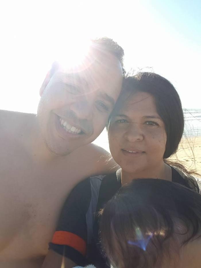 My beautiful parents...<3